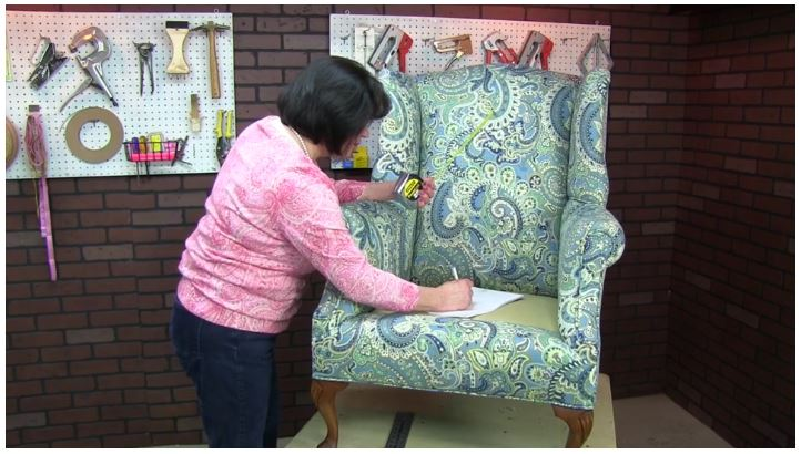 Measuring your Chair for a Cushion